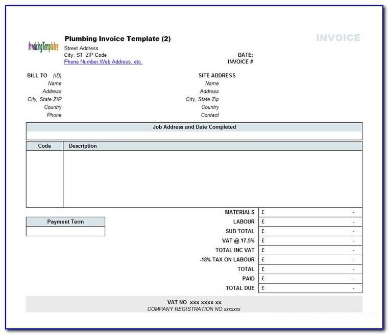 Free Invoice Template Microsoft Word 2003