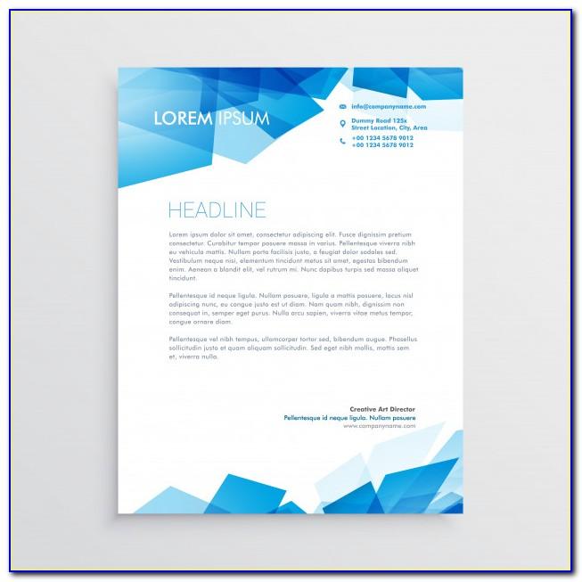Free Letterhead Design Templates Download