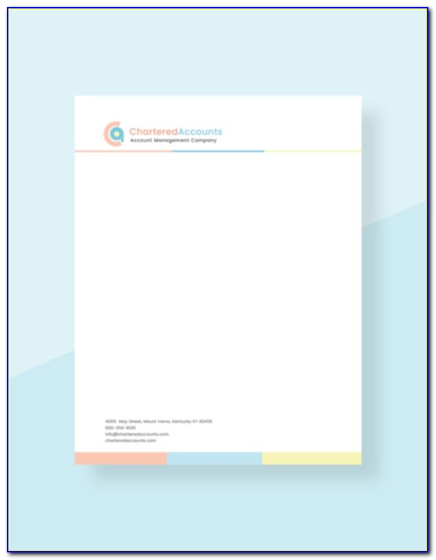 Free Letterhead Templates Word Download