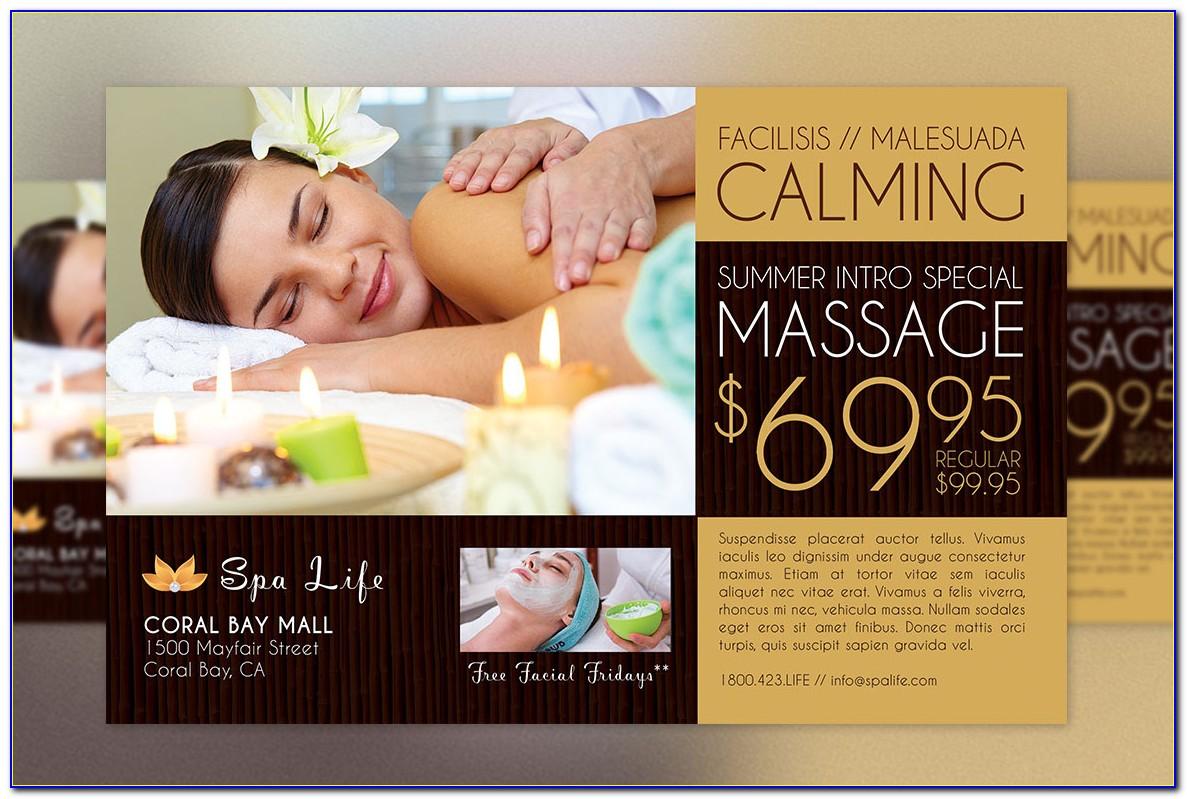 Free Massage Gift Certificate Templates