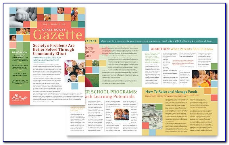 Free Newsletter Templates For Publisher 2007