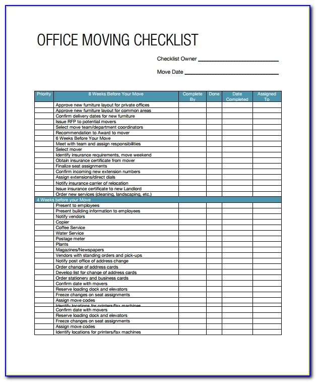 Free Office Moving Announcement Template