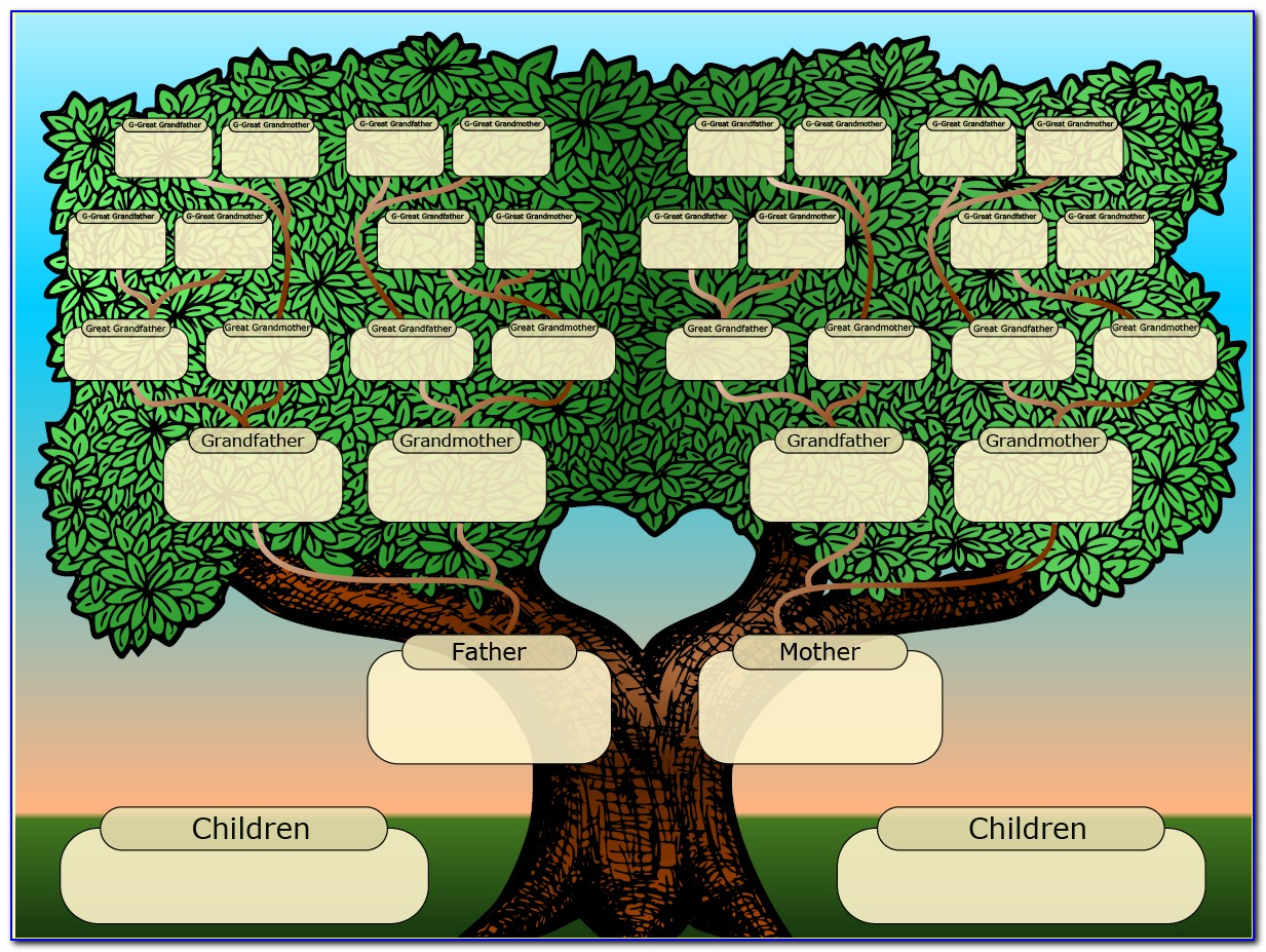Free Online Family Tree Maker Printable
