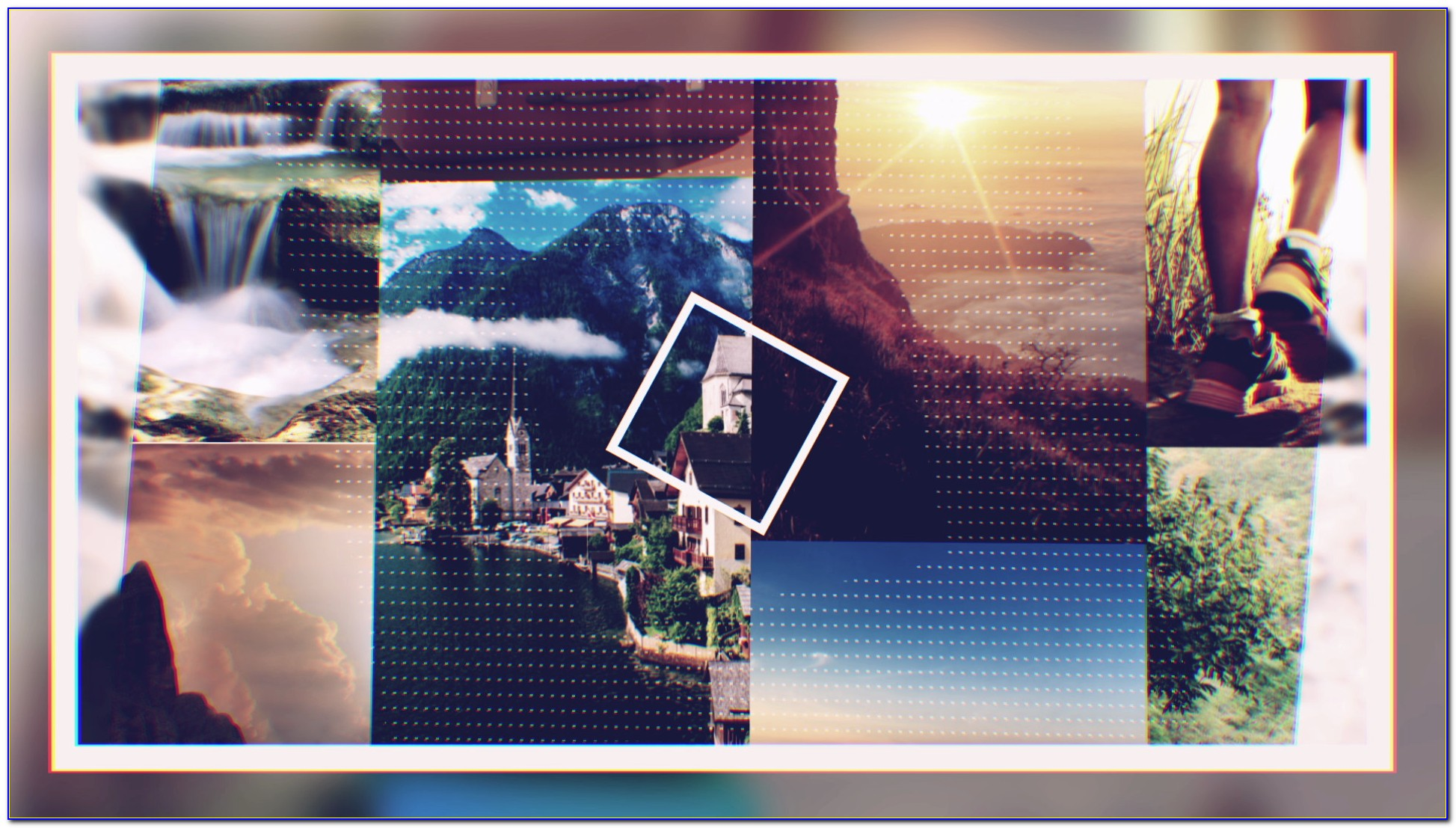 Free Photo Collage Template After Effects
