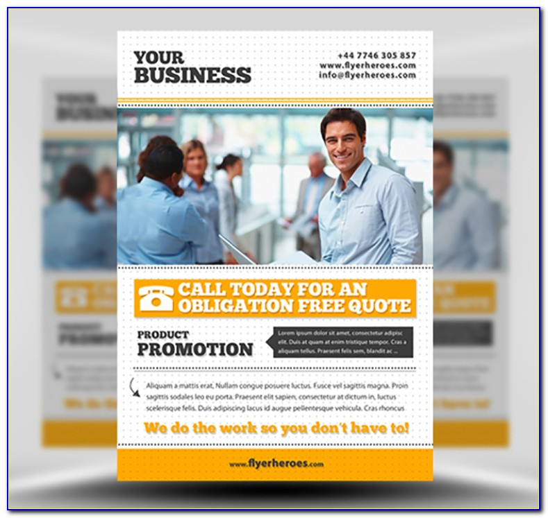 Free Photoshop Business Flyer Templates Psd