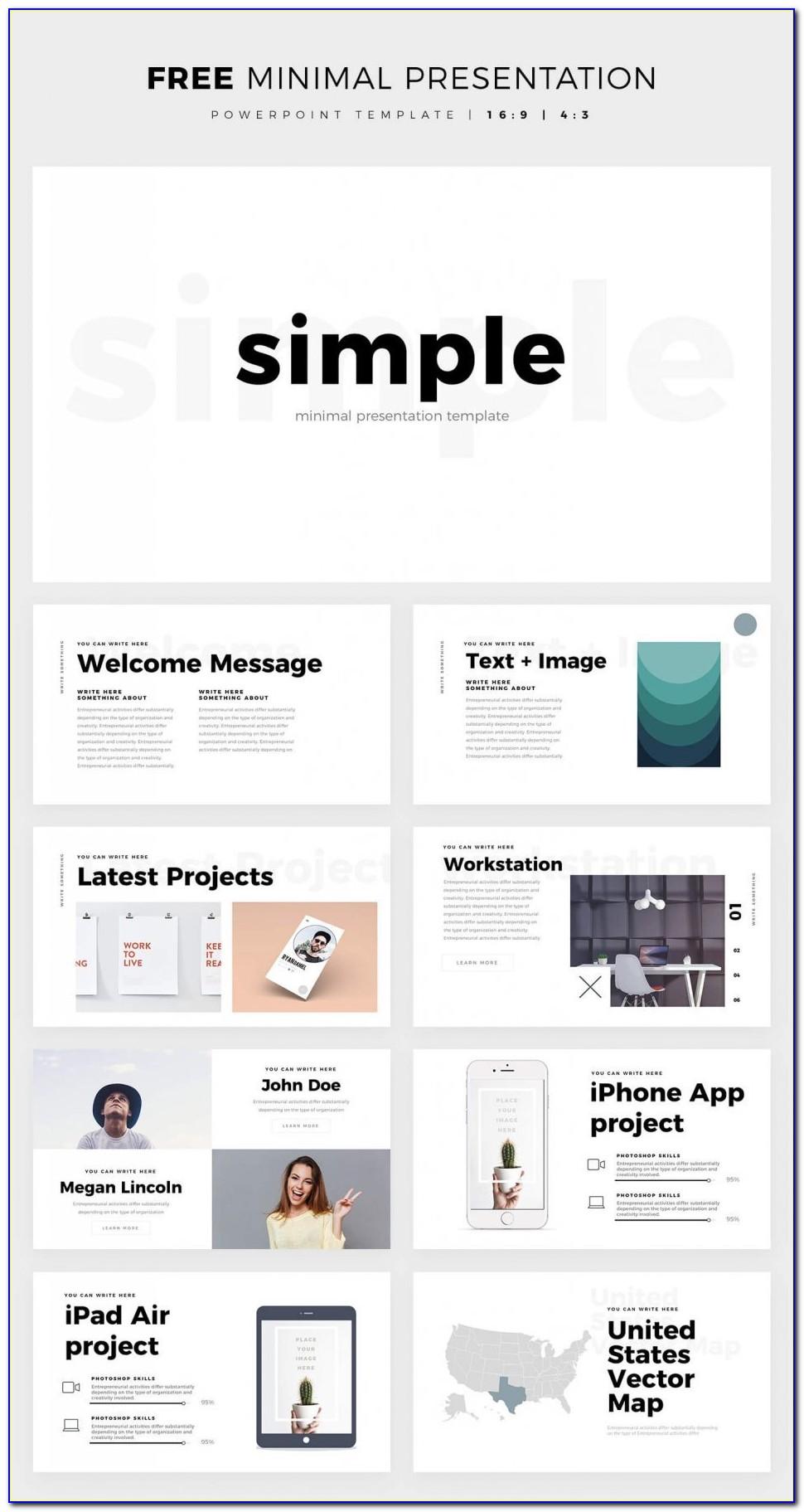 Free Powerpoint Template Roadmap