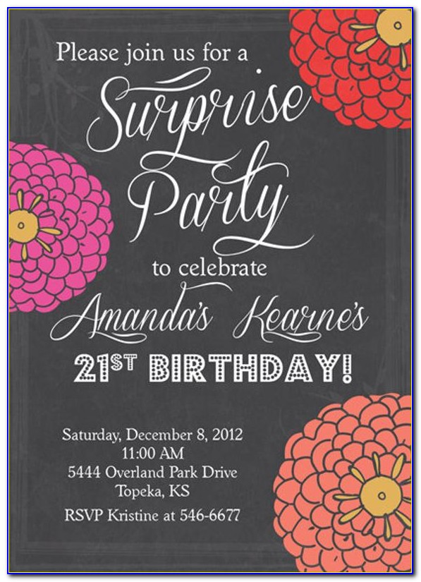Free Printable Birthday Invitations Templates For Kids