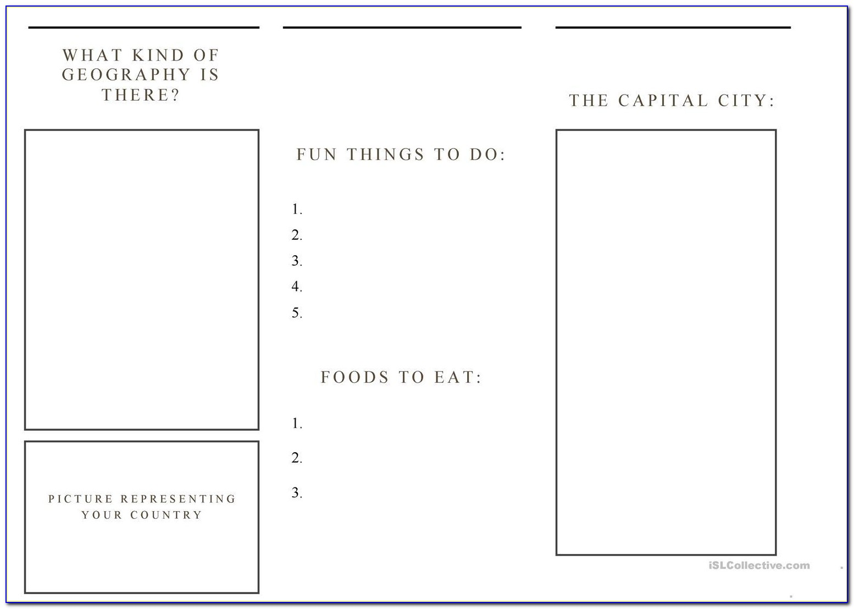 Free Printable Brochure Templates Word