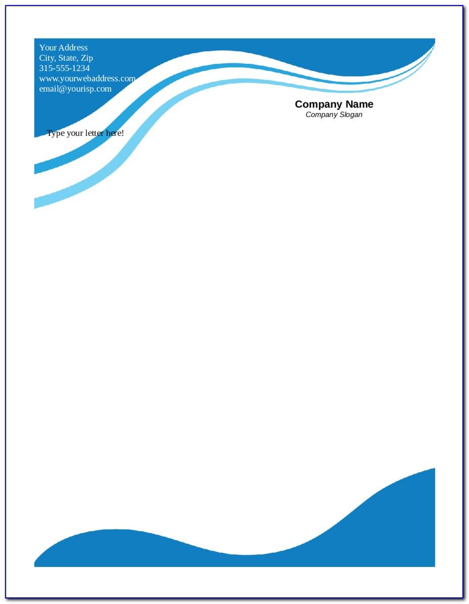 Free Printable Business Letterhead Templates