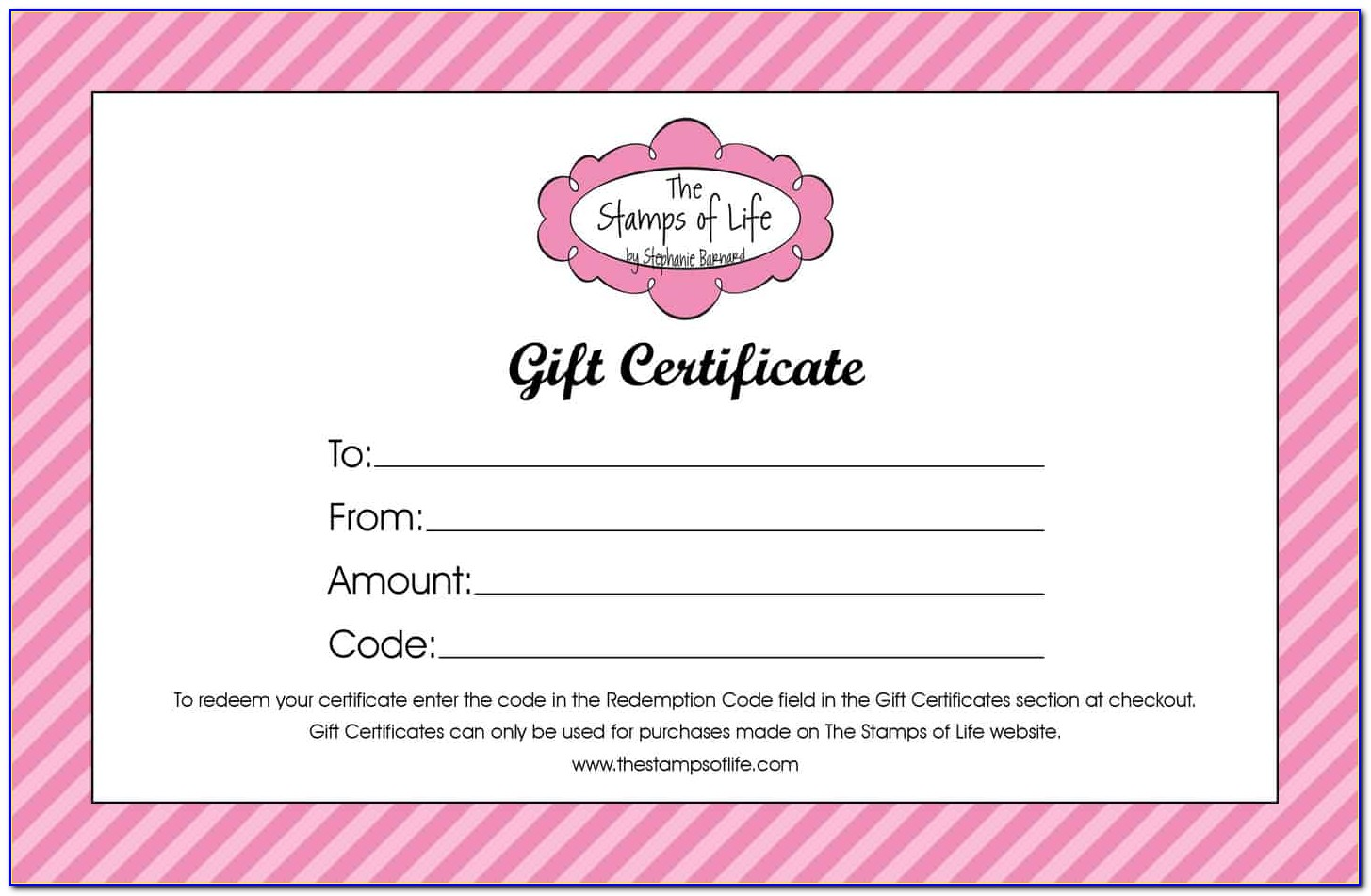 Free Printable Gift Certificate Templates For Christmas