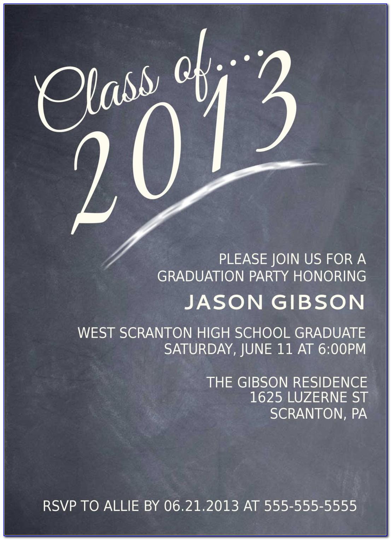 Free Printable Graduation Announcement Templates 2014