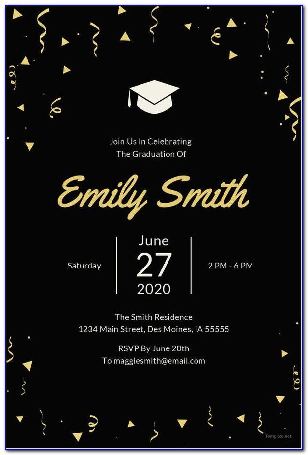 Free Printable Graduation Announcements Templates 2015