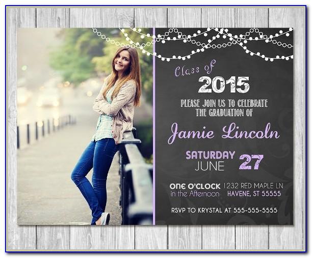 Free Printable Graduation Invitation Templates 2016