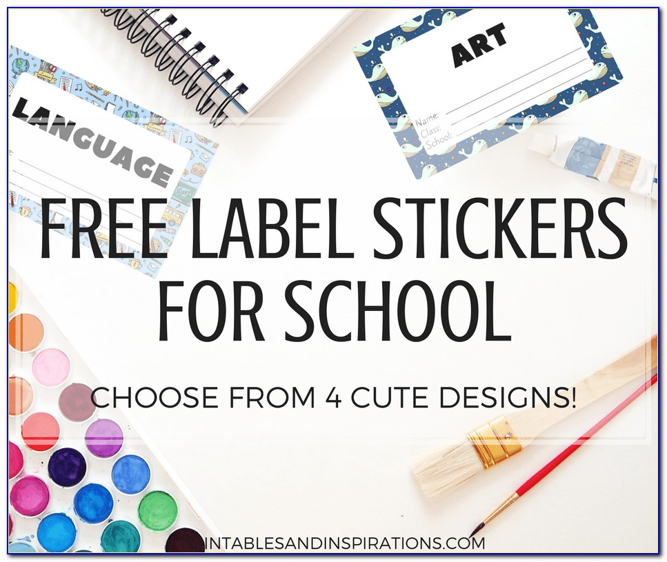 Free Printable Label Templates For Organizing