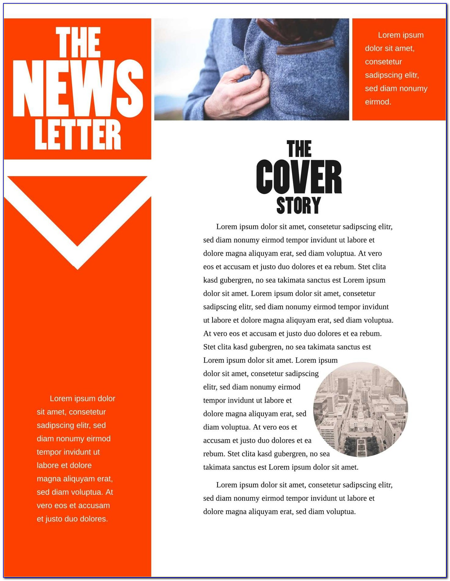 Free Printable Newsletter Templates For Mac
