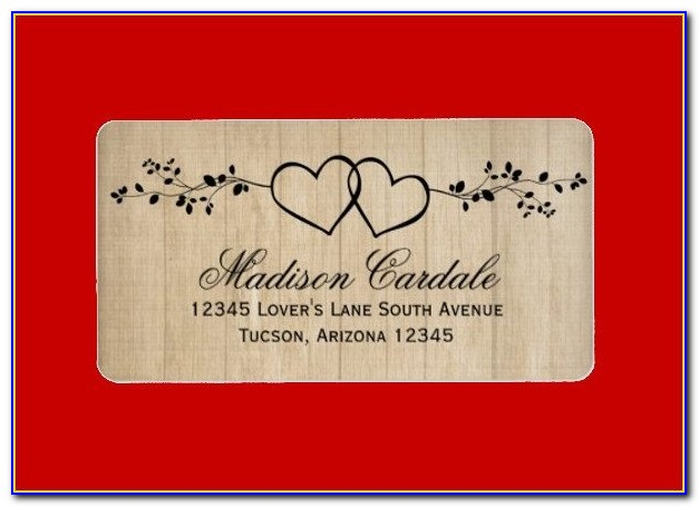 Free Printable Wedding Label Templates
