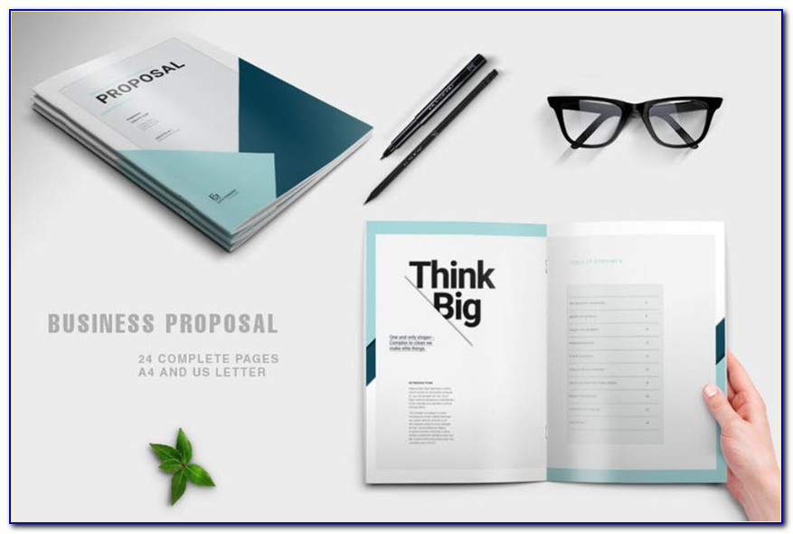 Free Project Proposal Template Indesign