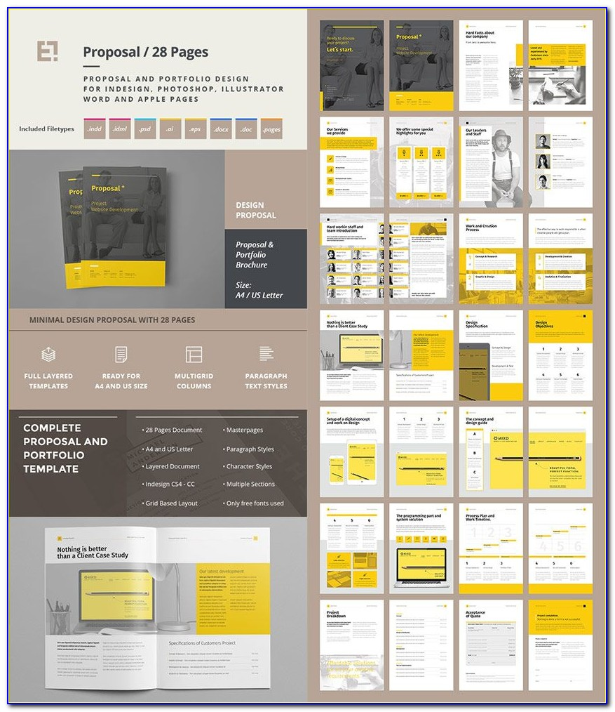 Free Proposal Template Design Free Download