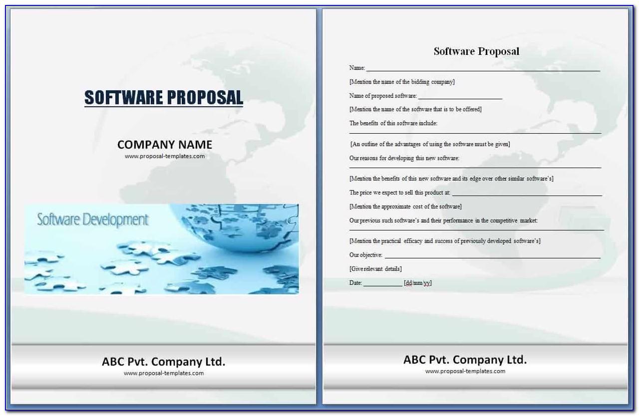Free Proposal Template Pdf