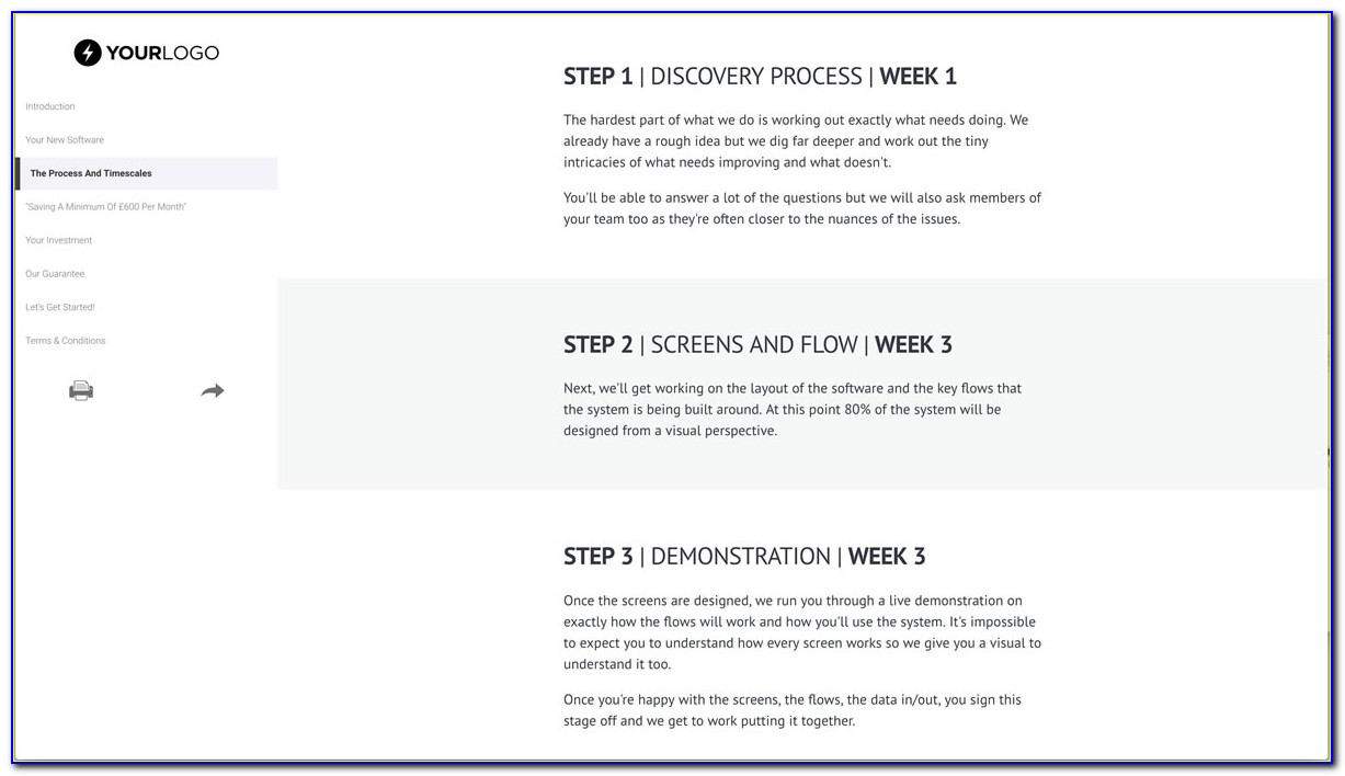 Free Software Project Proposal Template