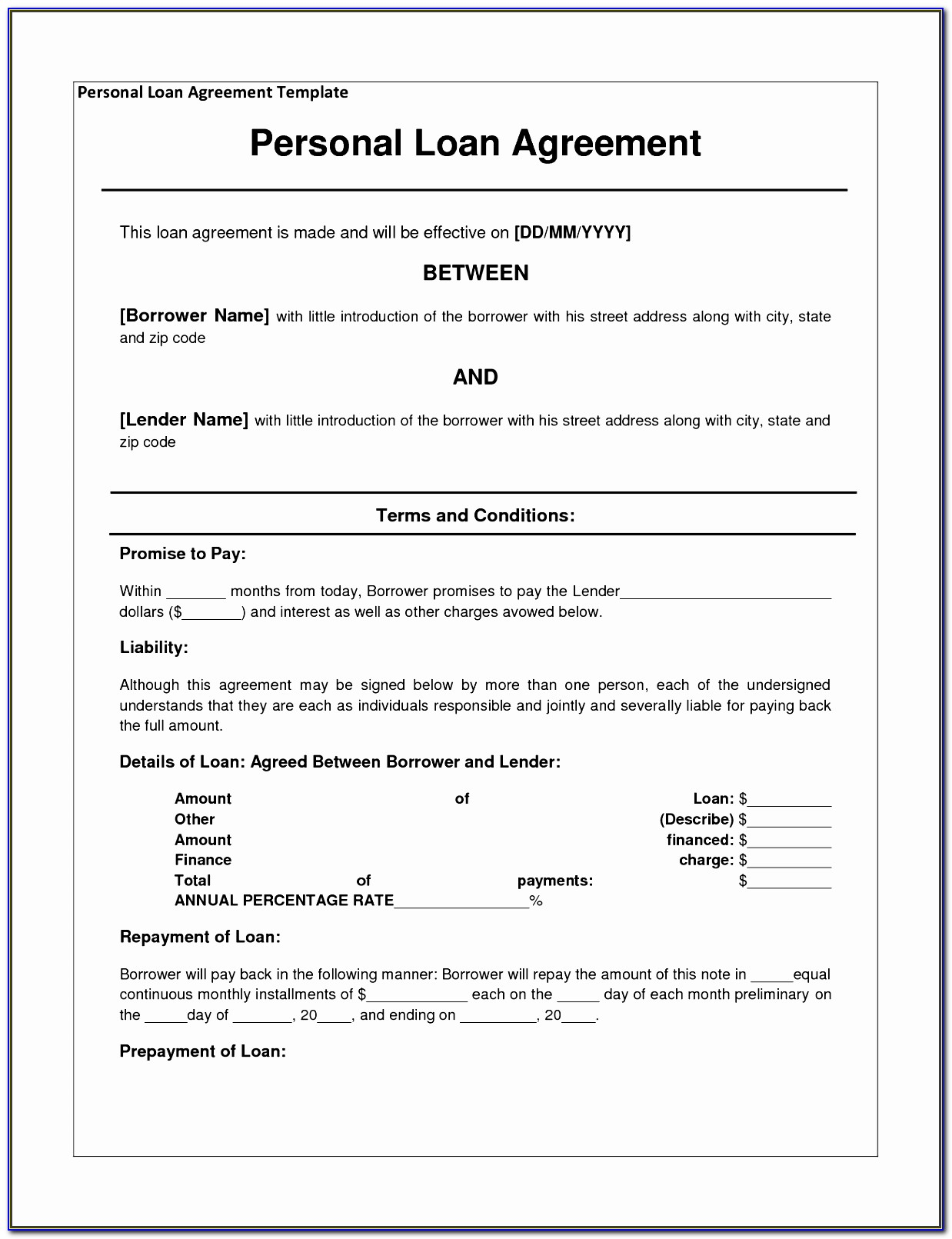 Microsoft Word Personal Letterhead Templates Free Download