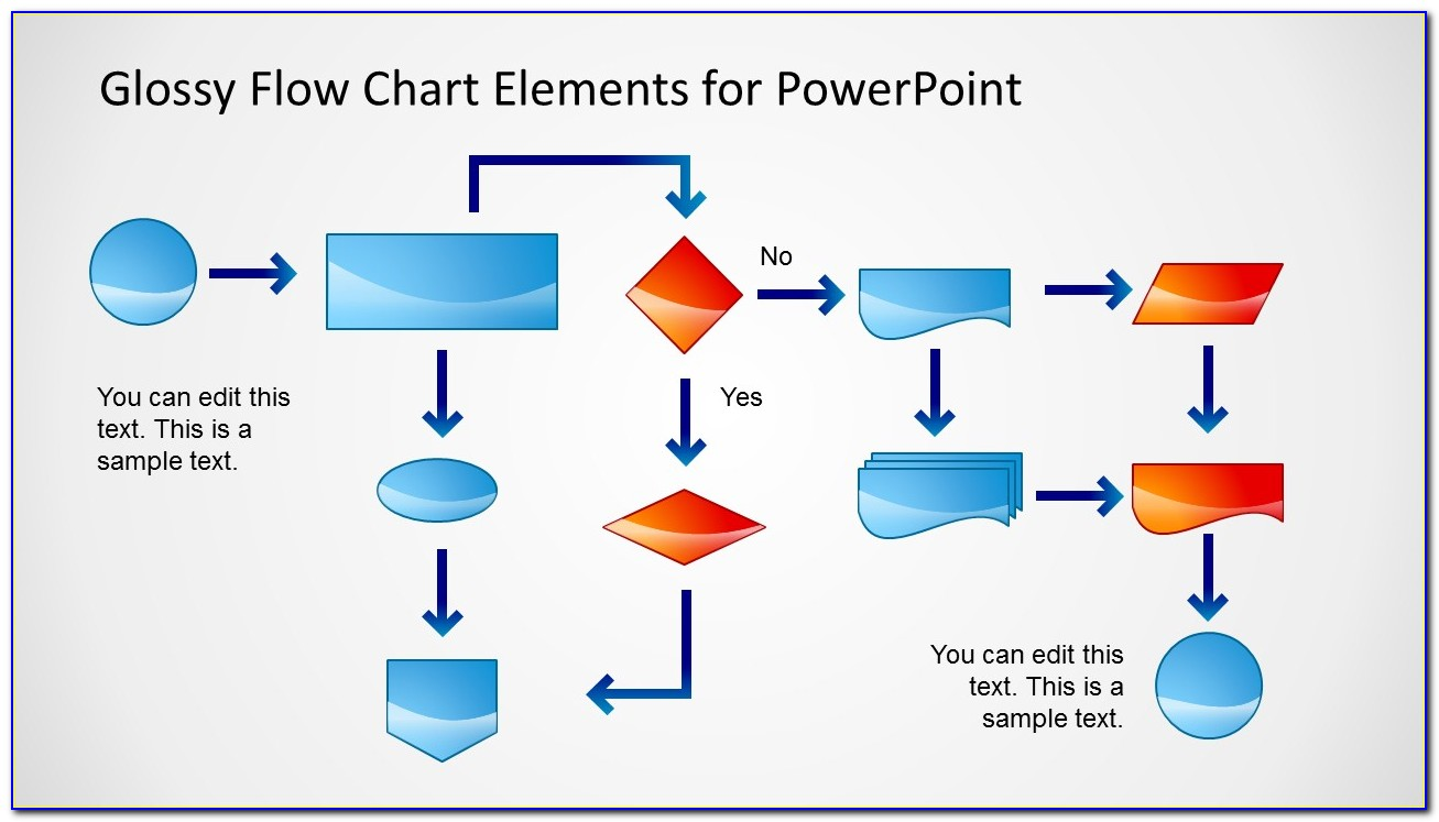 Powerpoint Flowchart Templates Free Download