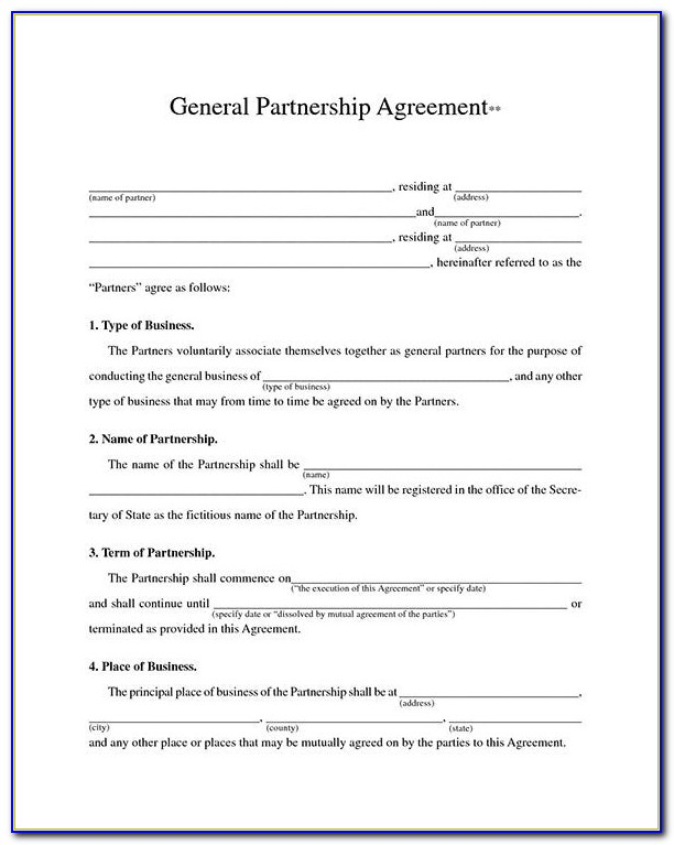 Print Free Contract Forms