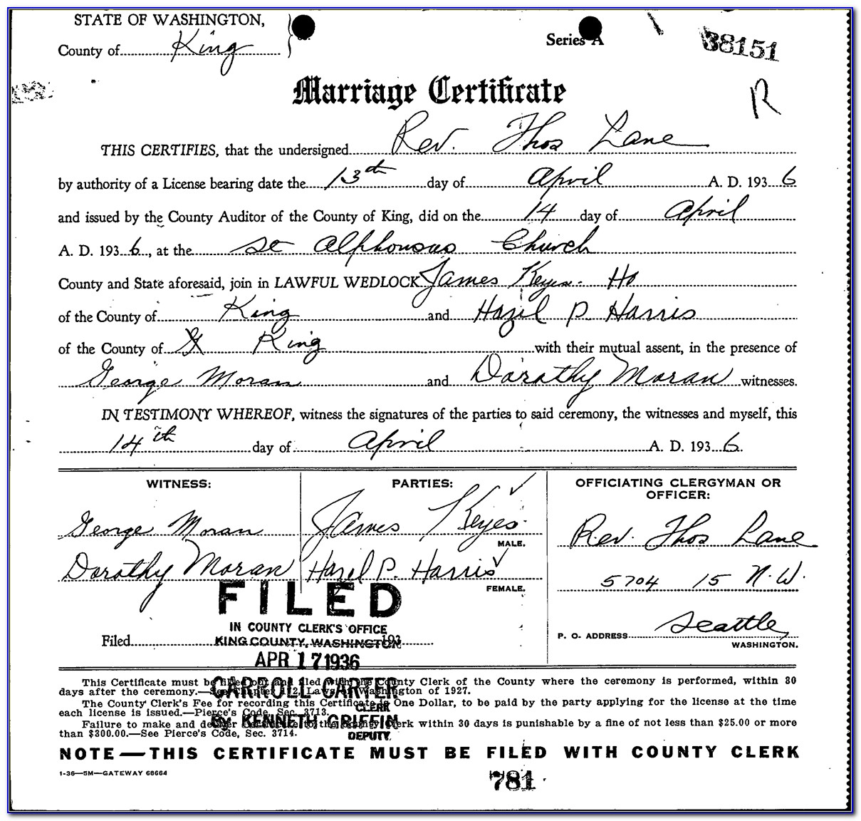 Sedgwick County Marriage License Office Hours
