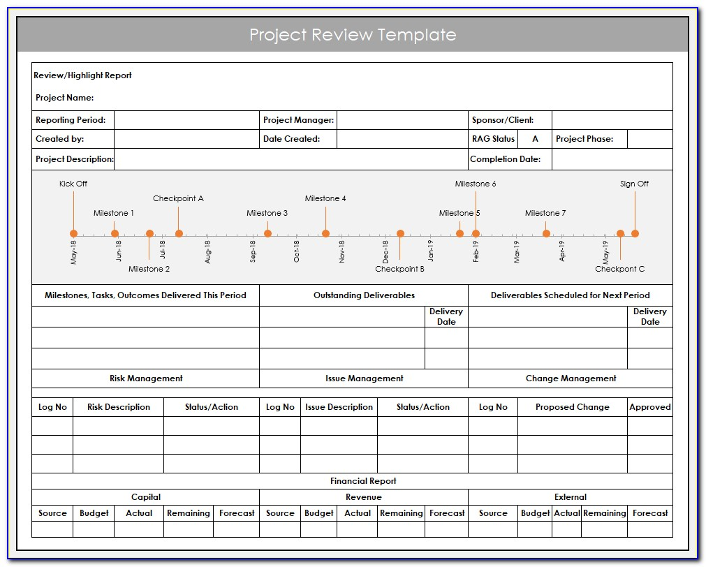 15 Useful Excel Templates For Project Management & Tracking