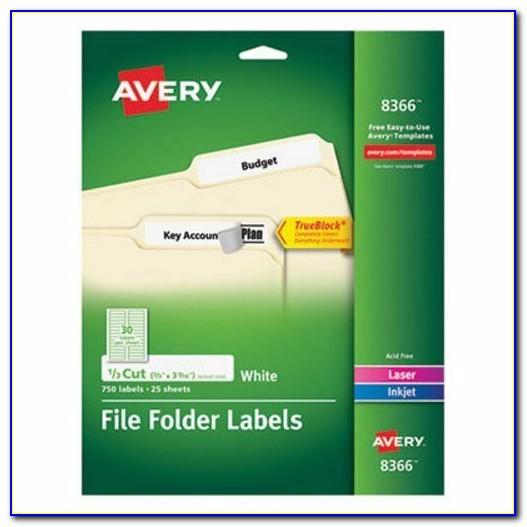 Avery File Folder Labels Template 30 Per Sheet