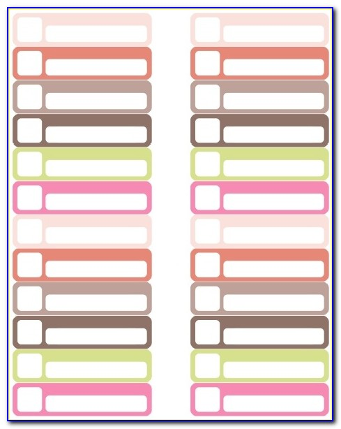 Avery File Folder Labels Template 8366