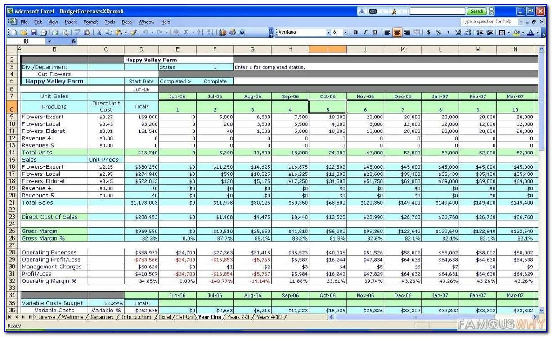 Excel Cost Estimate Template Construction