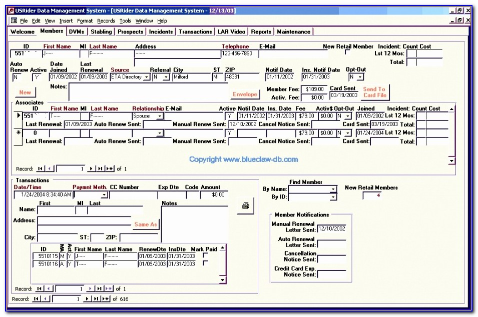 Excel Customer Database Templates