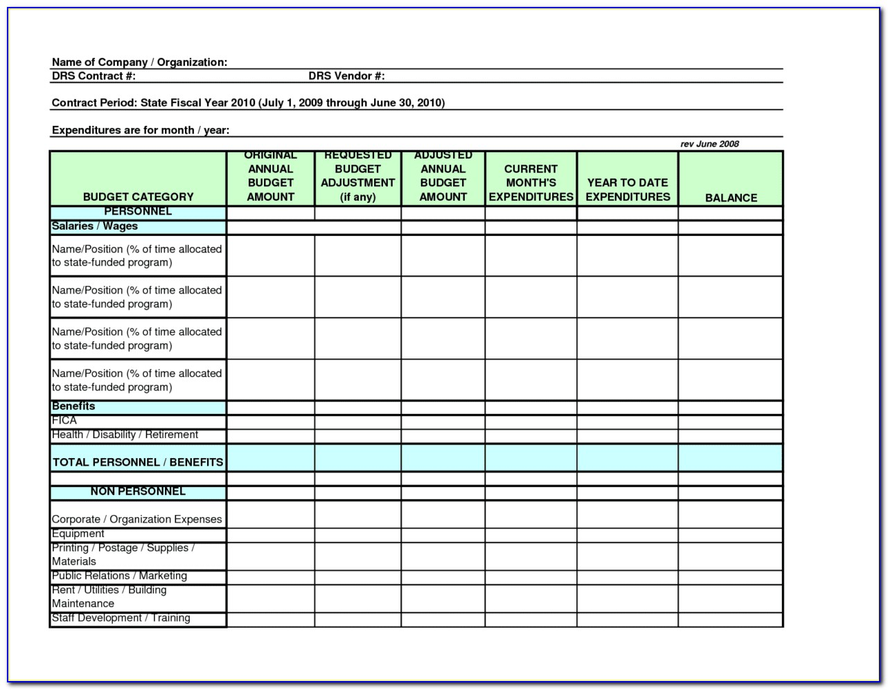 Excel Employee Training Schedule Template
