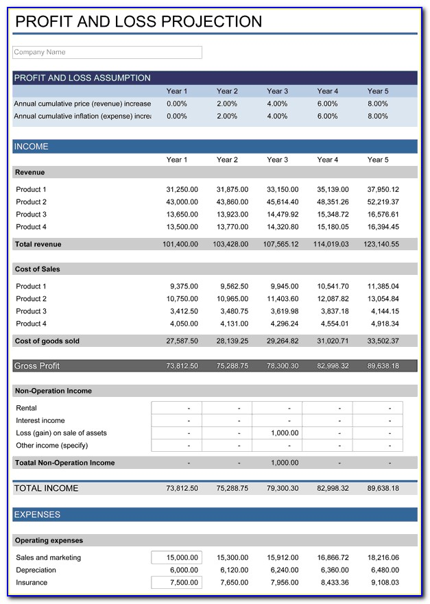 Excel Product Development Roadmap Template