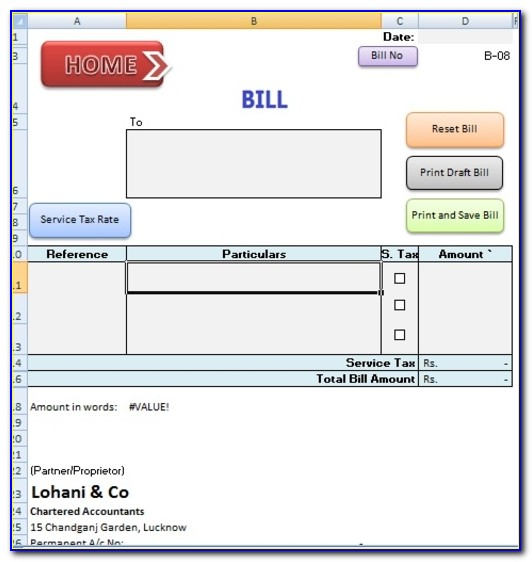 Excel Project Budget Template