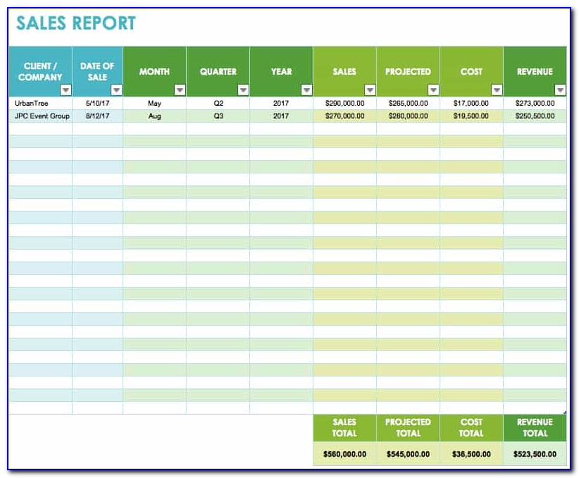 Excel Retail Inventory Template Free