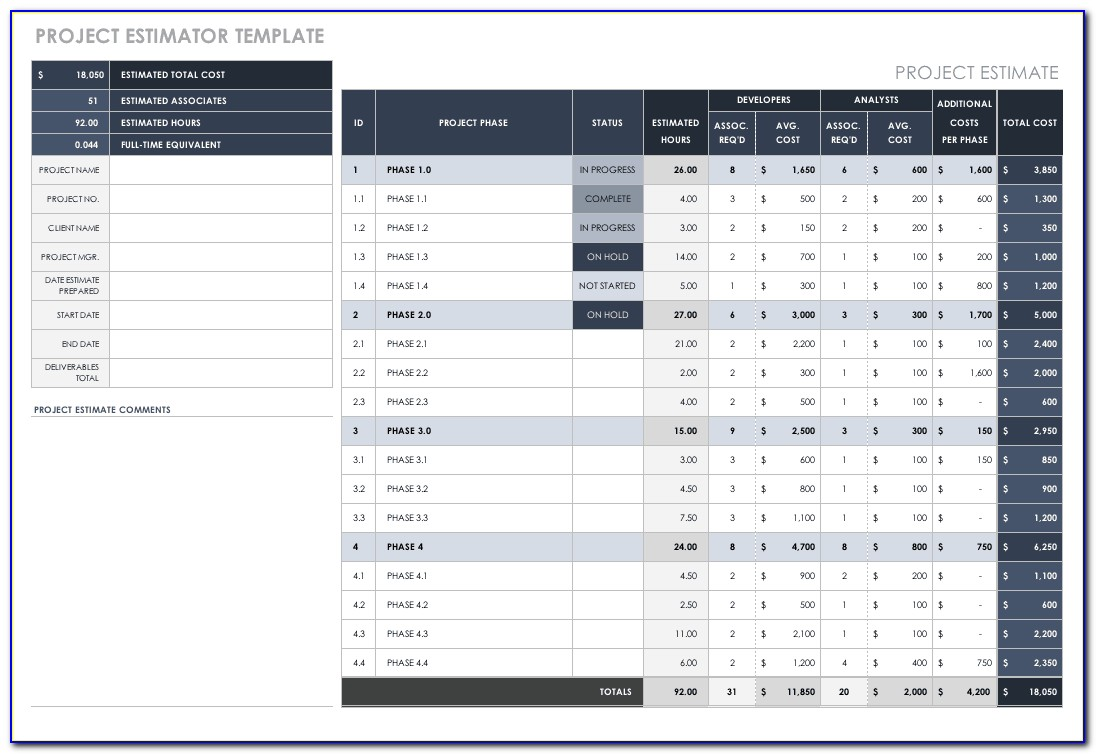 Excel Small Business Accounting Template