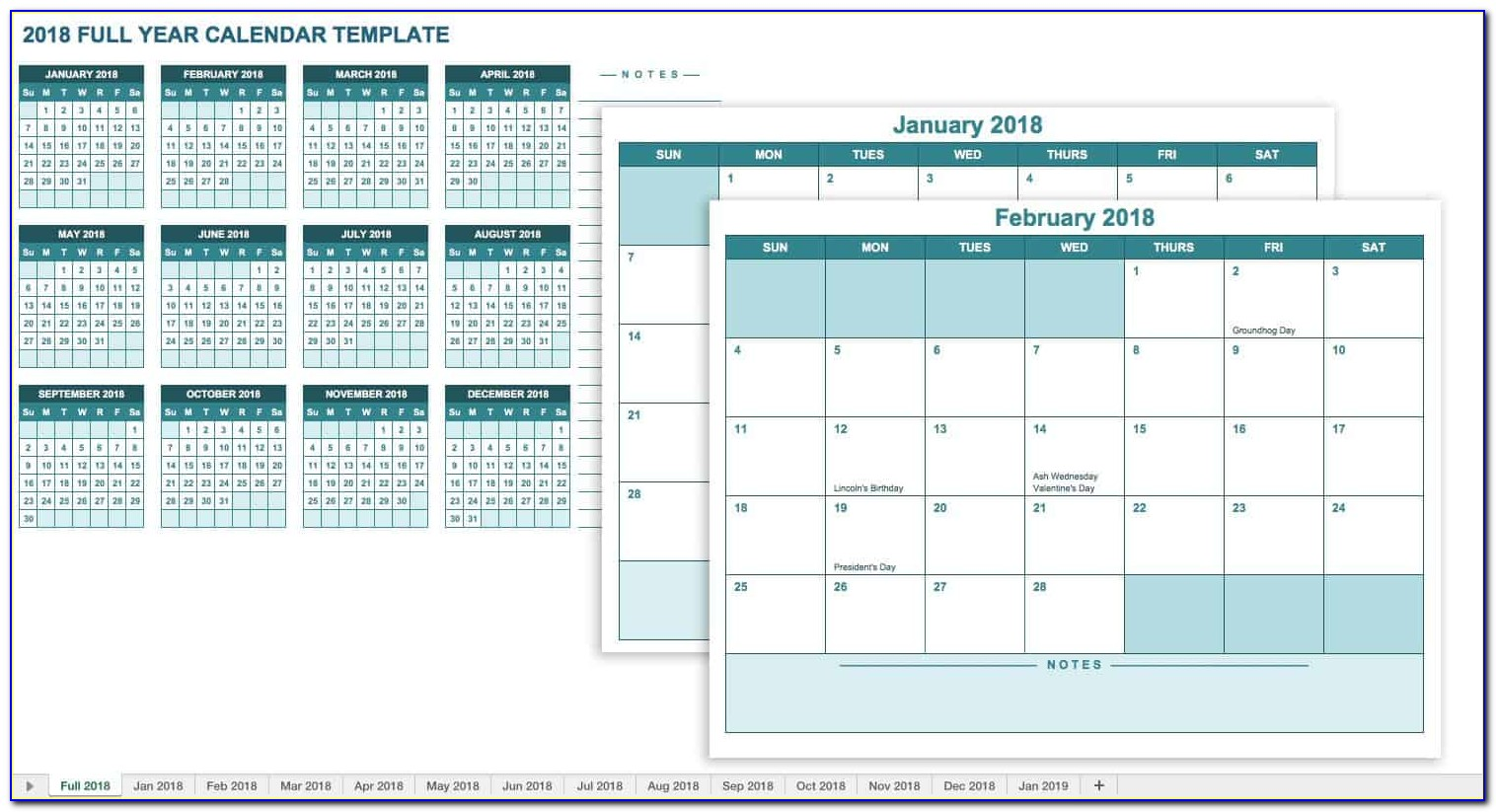 Excel Spreadsheet Budget Planner Template