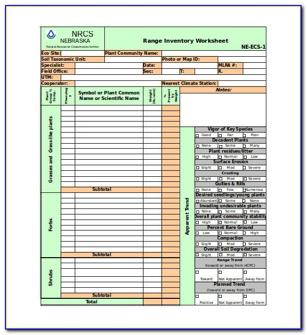 Excel Templates For Inventory Planning