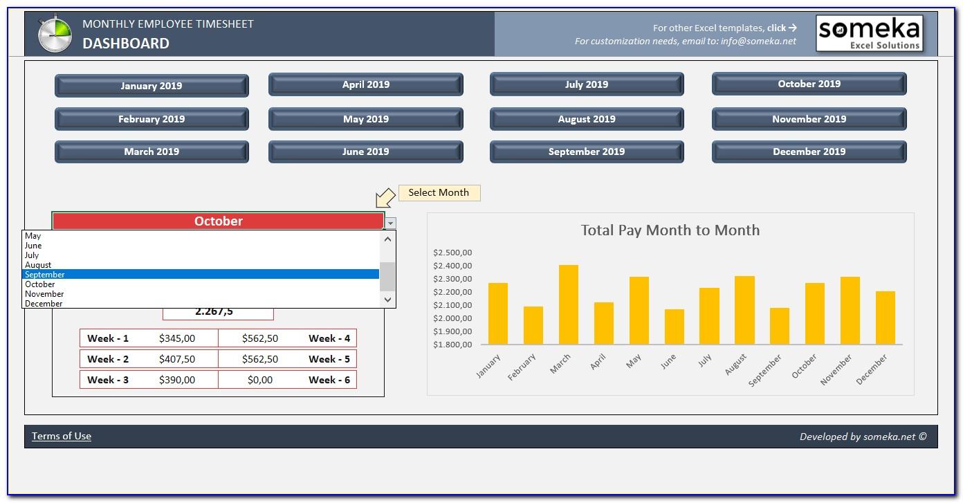 Excel Training Example Spreadsheet