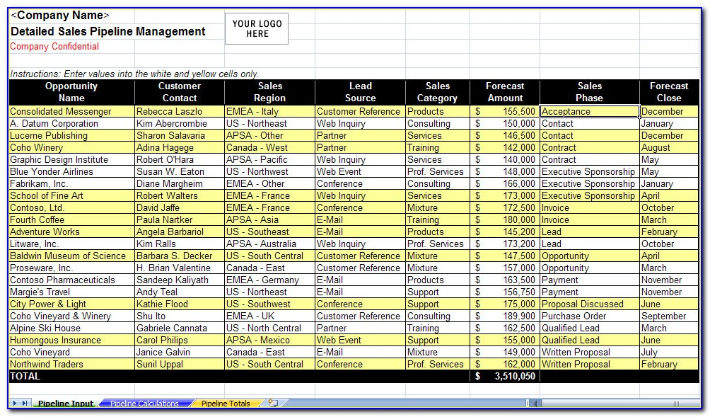 Excel Training Plan Templates For Employees