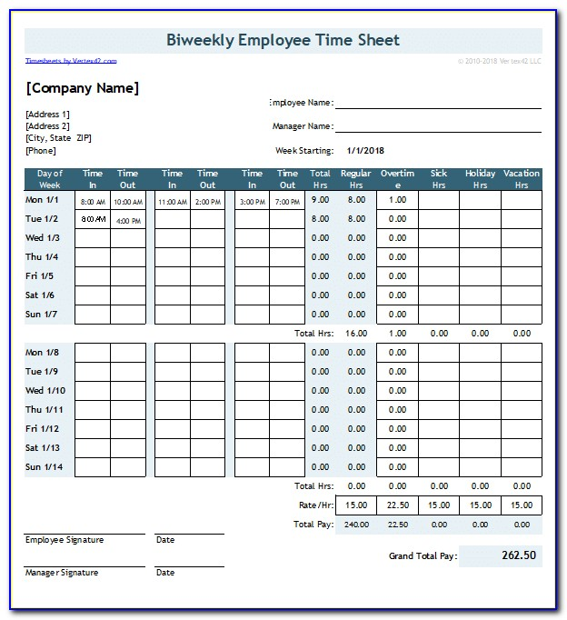 Excel Training Templates Free