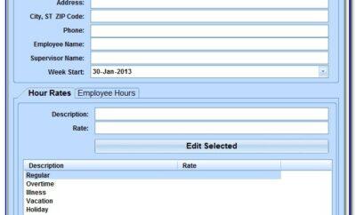 Excel Weekly Sales Report Template