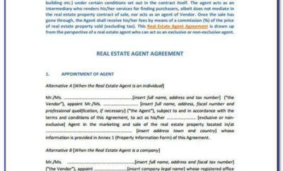 Exclusive Buyer Broker Agreement Form