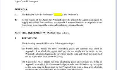 Exclusive Buyer Brokerage Agreement Sample