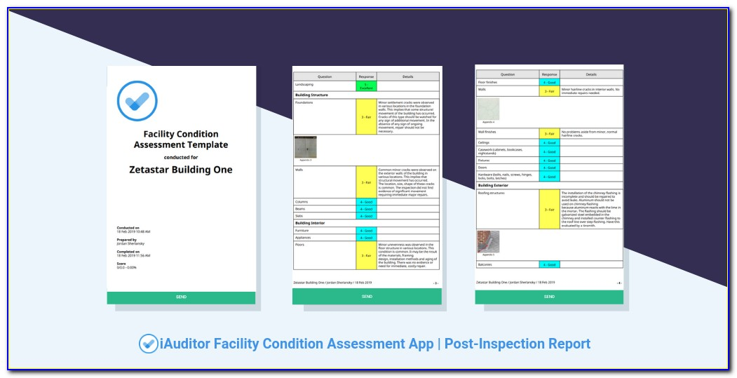 Facility Condition Assessment Forms