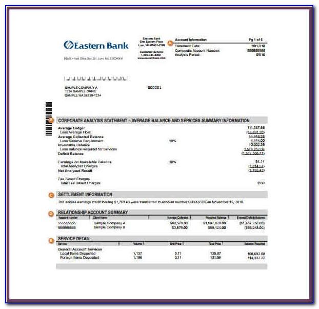 Fake Bank Statement Template Download Uk