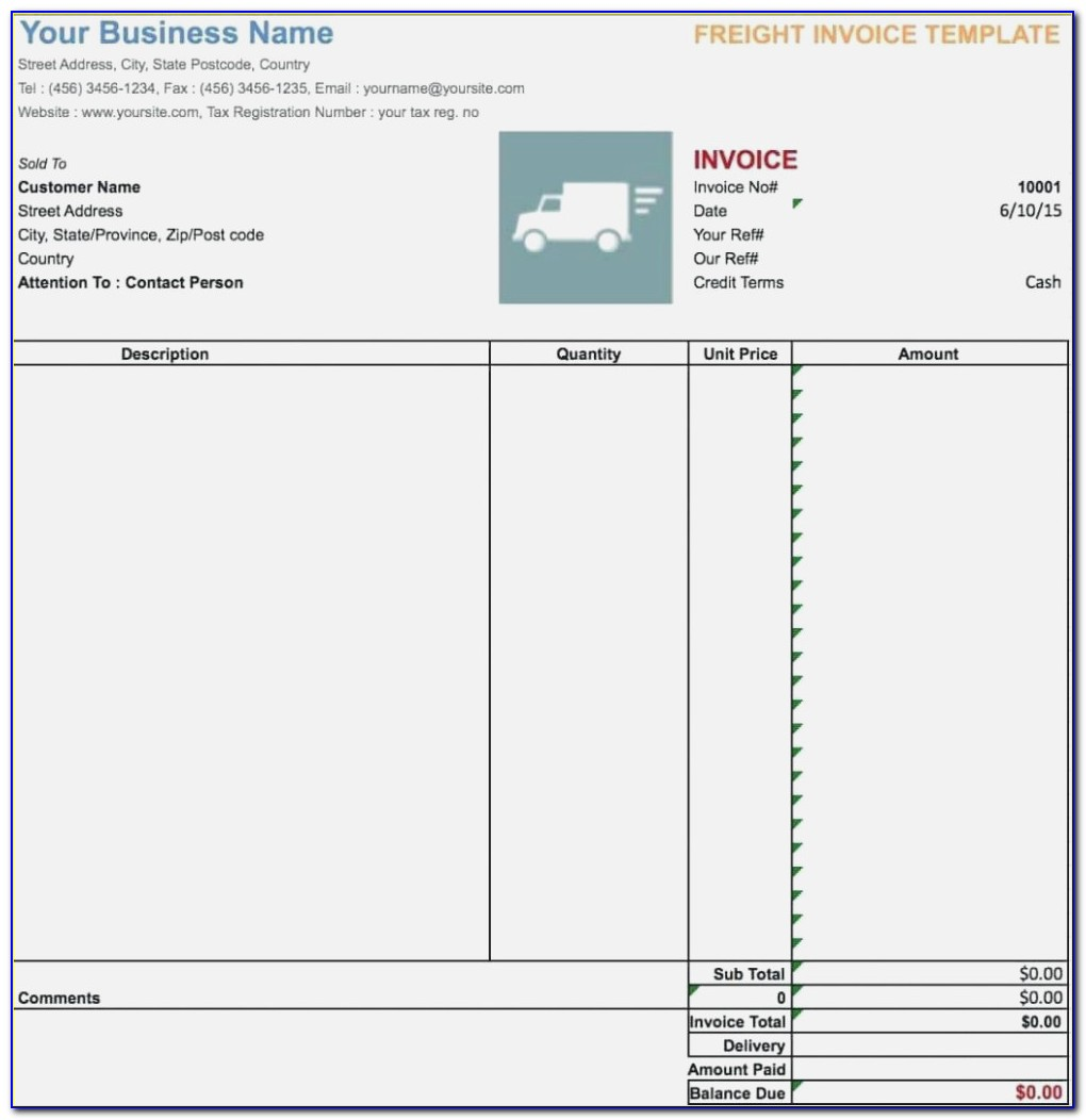 Fake Ebay Invoice Template