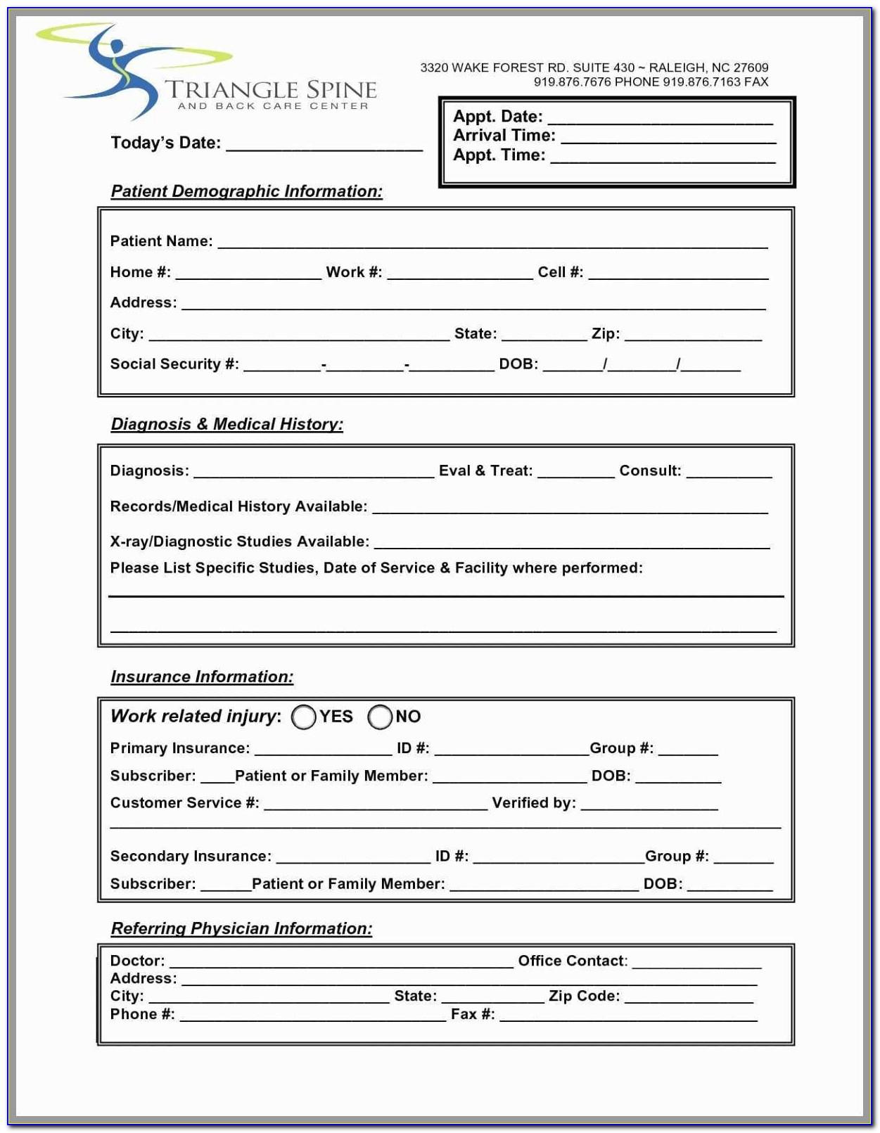 Fillable Resume Templates Pdf